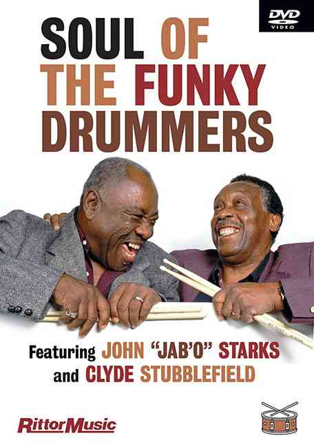 SOUL OF THE FUNKY DRUMMERS BY STUBBLEFIELD,CLYDE (DVD)